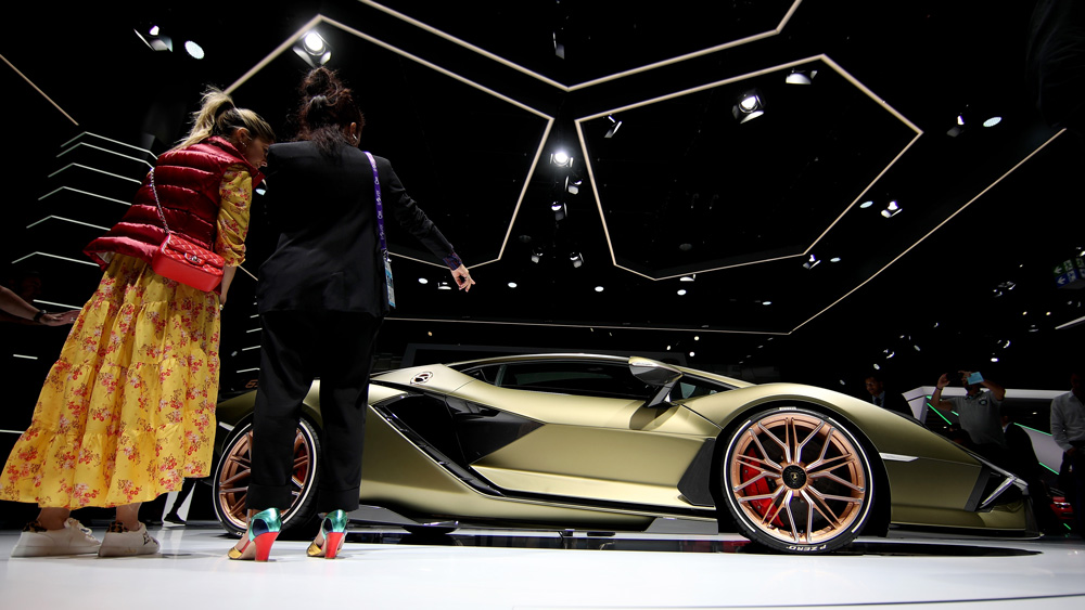 The Lamborghini Sían.
