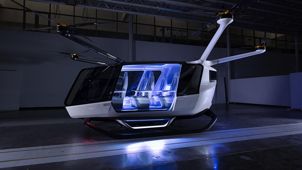 The Skai rotorcraft by Alaka'i Technologies