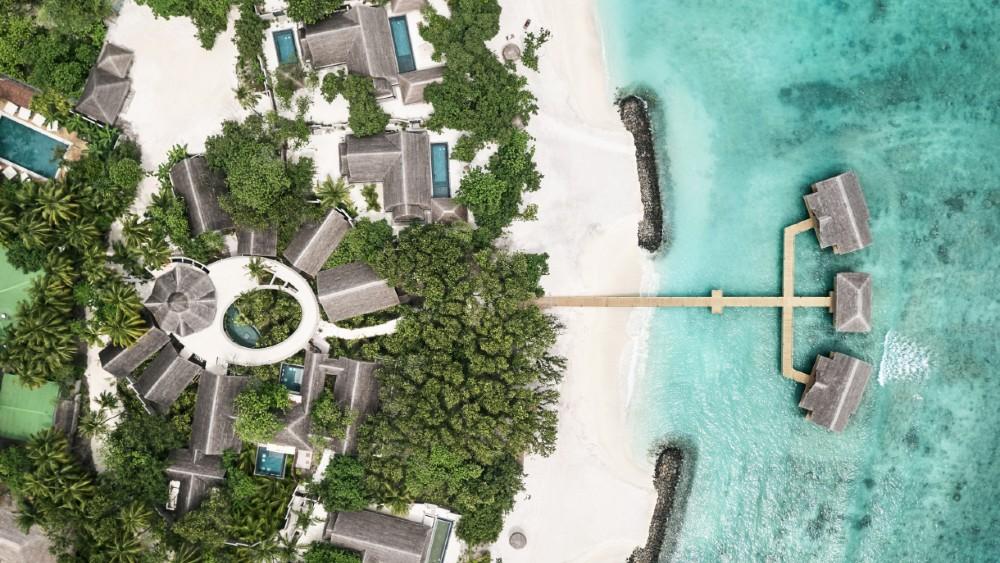 Wellness center at JOALI Maldives
