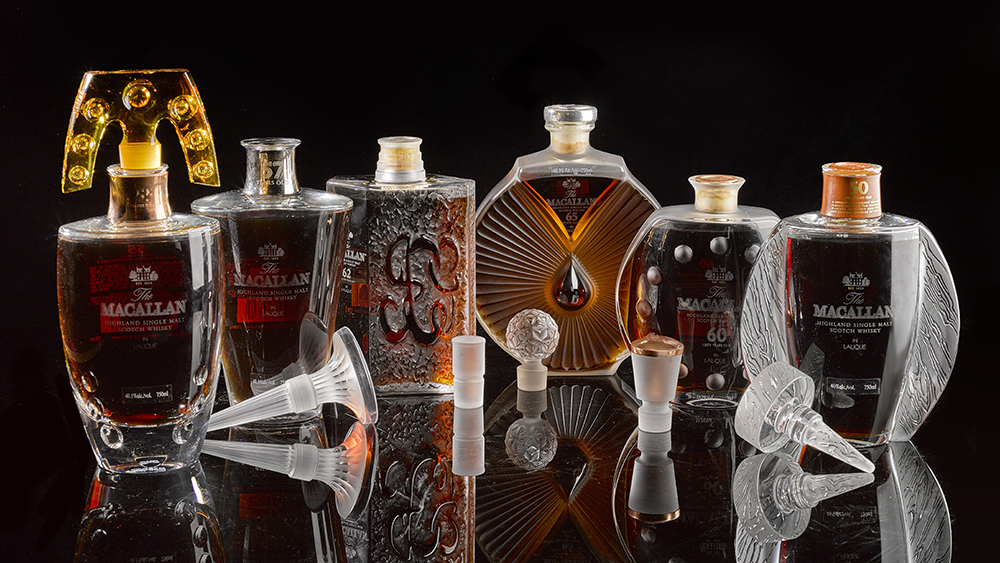 The Macallan 50 Year Lalique Edition Six Pillars Collection