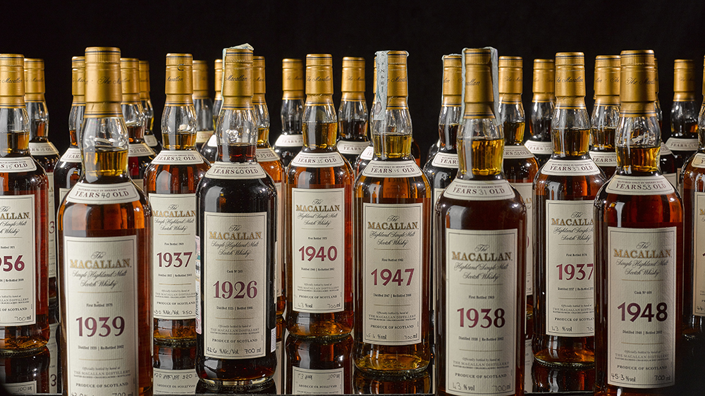The Macallan Fine and Rare Collection