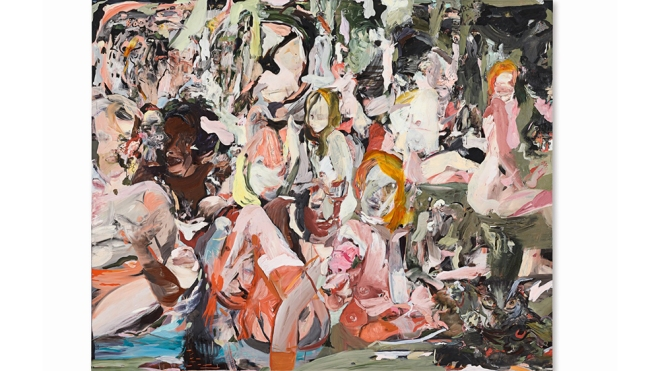 """Cecily Brown's """"The Year of the Scavenger"""" (2012)"""