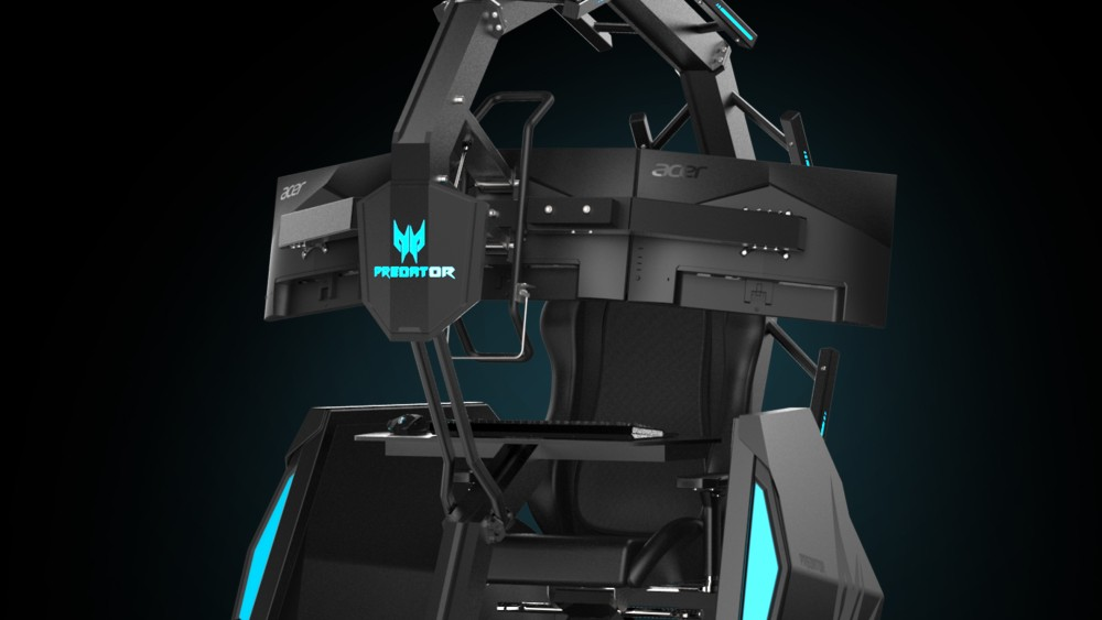 The Acer Predator Thronos Air Gaming Chair