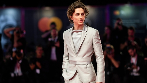 Timothee Chalamet poses for photographers upon arrival at the premiere of the film 'The King' at the 76th edition of the Venice Film Festival, Venice, ItalyFilm Festival 2019 The King Red Carpet, Venice, Italy - 02 Sep 2019