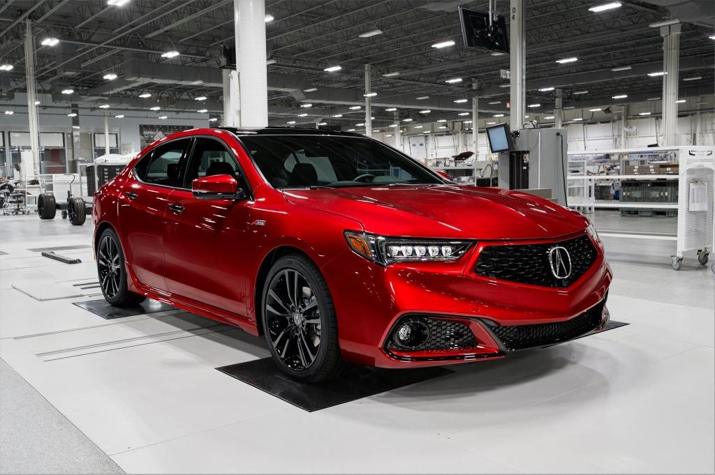 The 2020 Acura TLX PMC Edition.