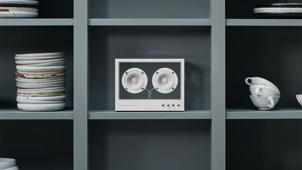 Transparent Sound's Small Transparent Speaker