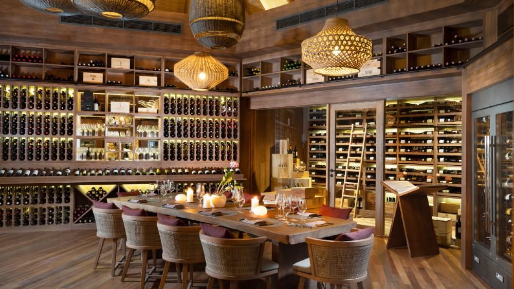 Vakkaru Maldives Wine Cellar