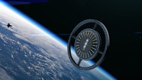 The Von Braun Rotating Space Station