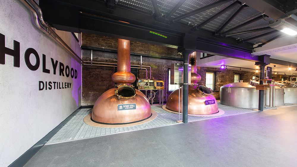 Holyrood Distillery in Edinburgh