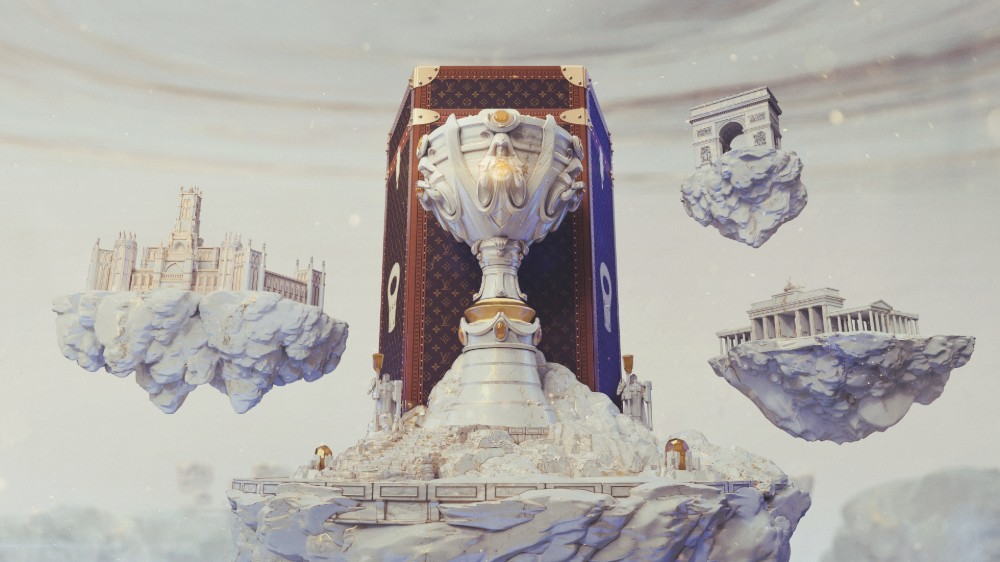 The 2019 Summoner's Cup and its bespoke Louis Vuitton trunk