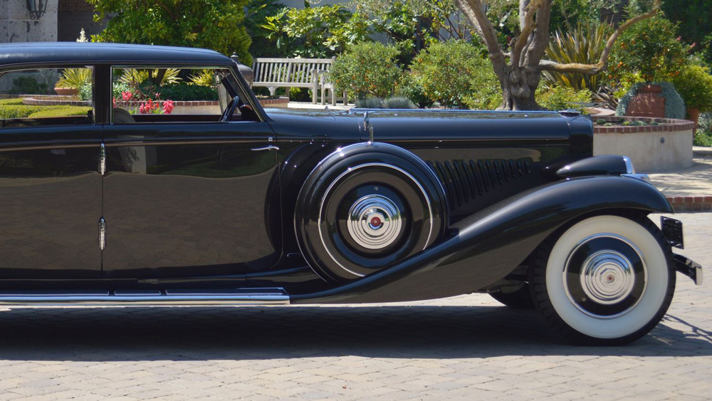 """A car once owned by Bill """"Bojangles"""" Robinson."""