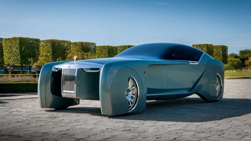 The Rolls-Royce 103EX concept