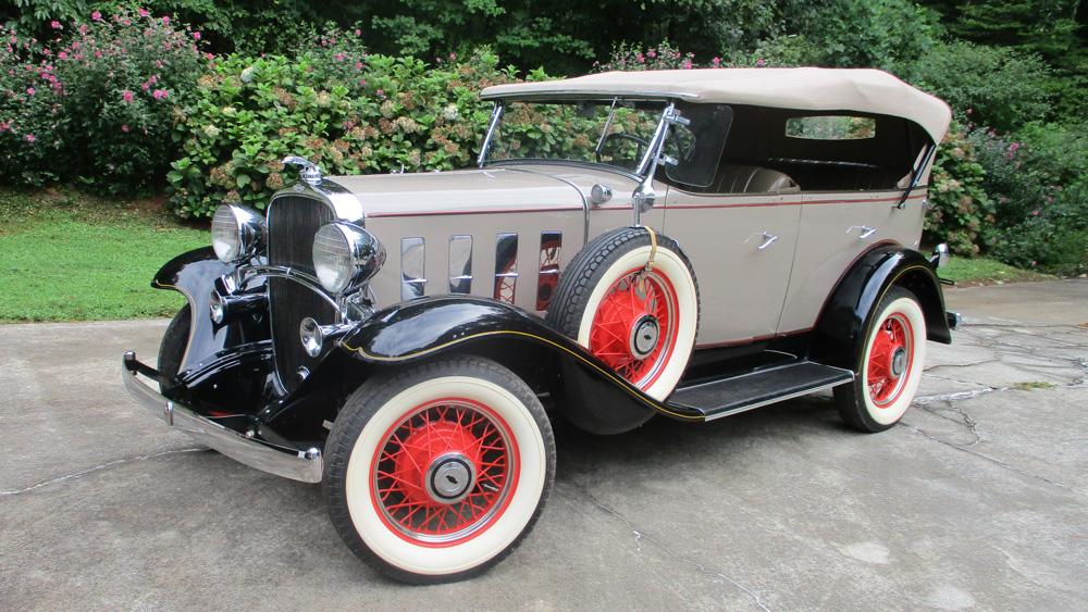 A 1932 Ford Phaeton.