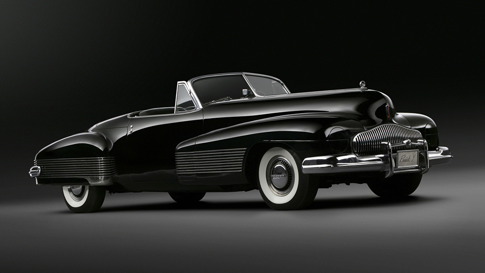 The 1938 Buick Y-Job was Detroit's first concept car