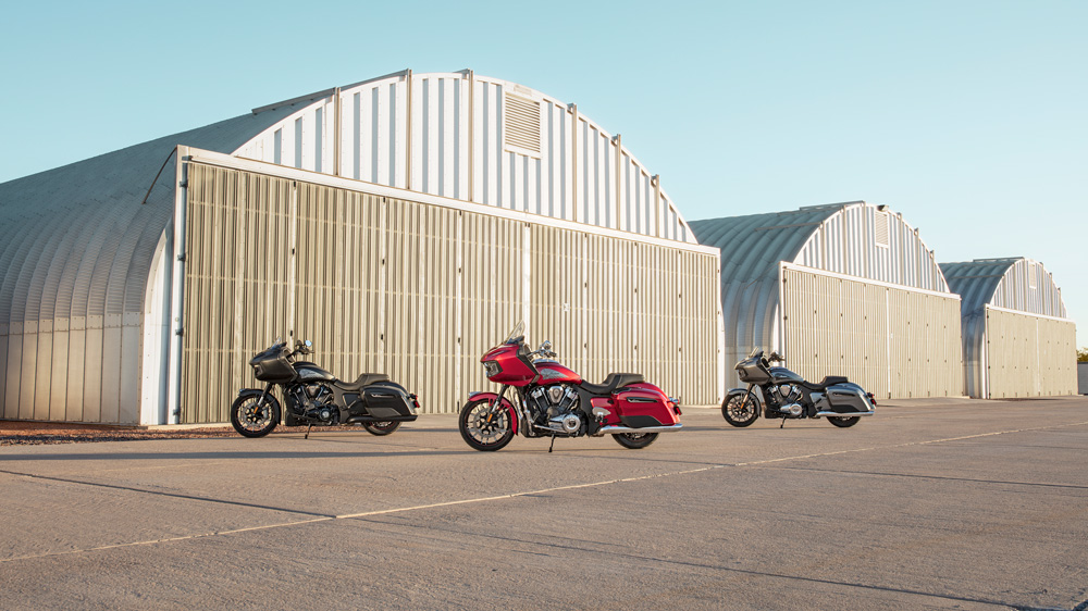 Indian Motorcycle's 2020 Challenger Lineup.