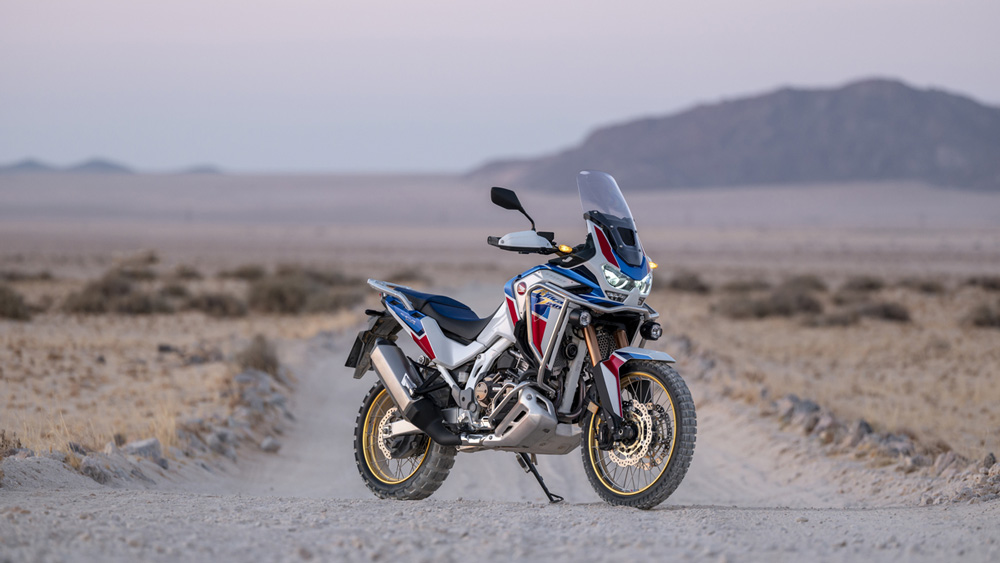 The 2020 Honda Africa Twin Sports Adventure SE.