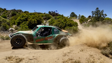 One of Wide Open Baja's off-roaders