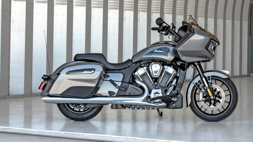 The Challenger base model from Indian Motorcycle.