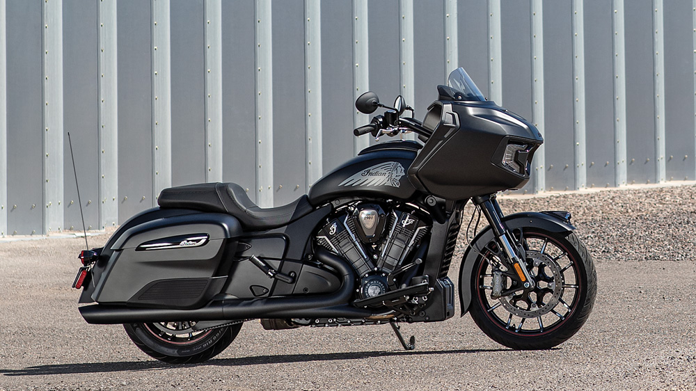 The 2020 Challenger Dark Horse from Indian Motorcycle.