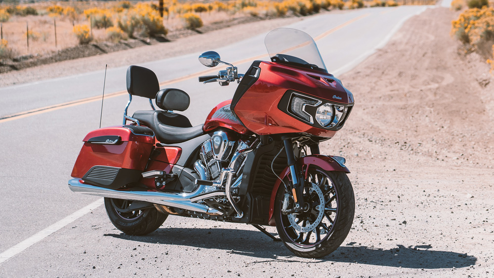 The 2020 Challenger Limited from Indian Motorcycle.