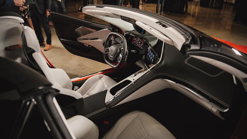 The 2020 Chevy Corvette Stingray Convertible.