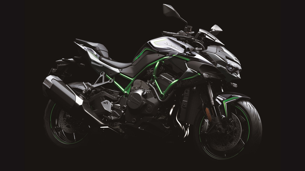 The 2020 Kawasaki Z H2.