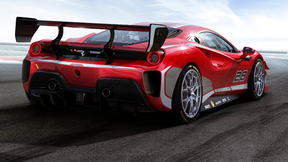 The Ferrari 488 Challenge Evo