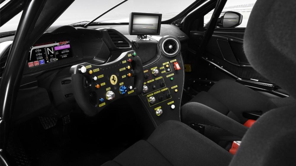 Inside the Ferrari 488 Challenge Evo