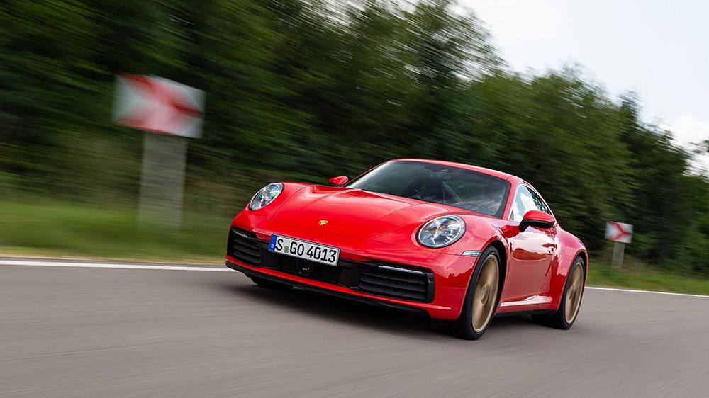 The Porsche 911 Carrera S