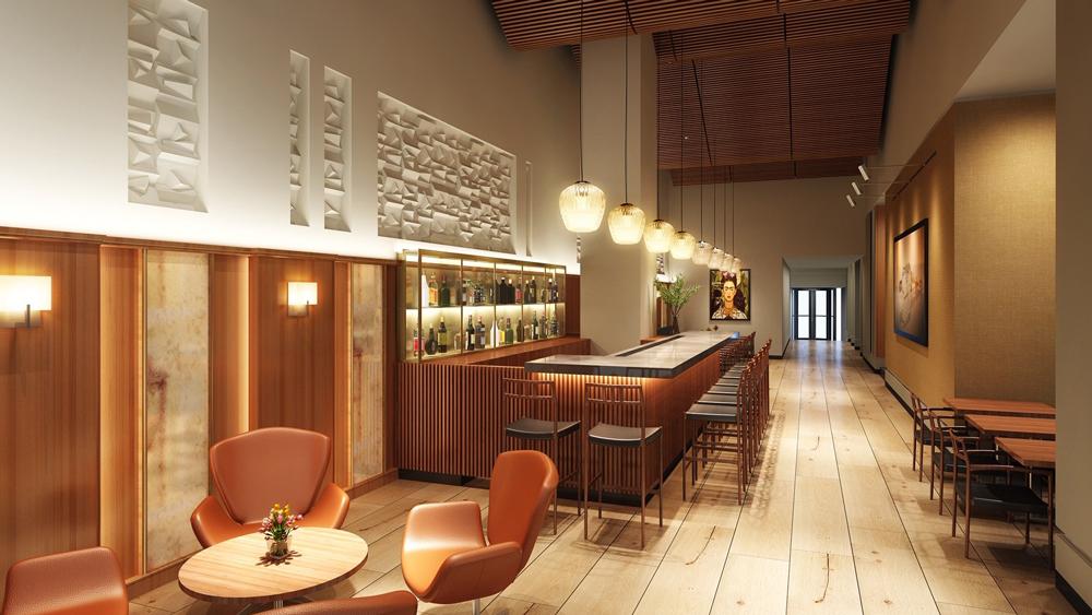 Aquavit new bar rendering