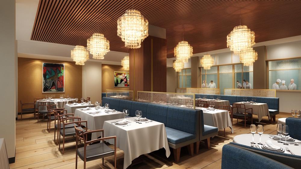 Aquavit new dining room