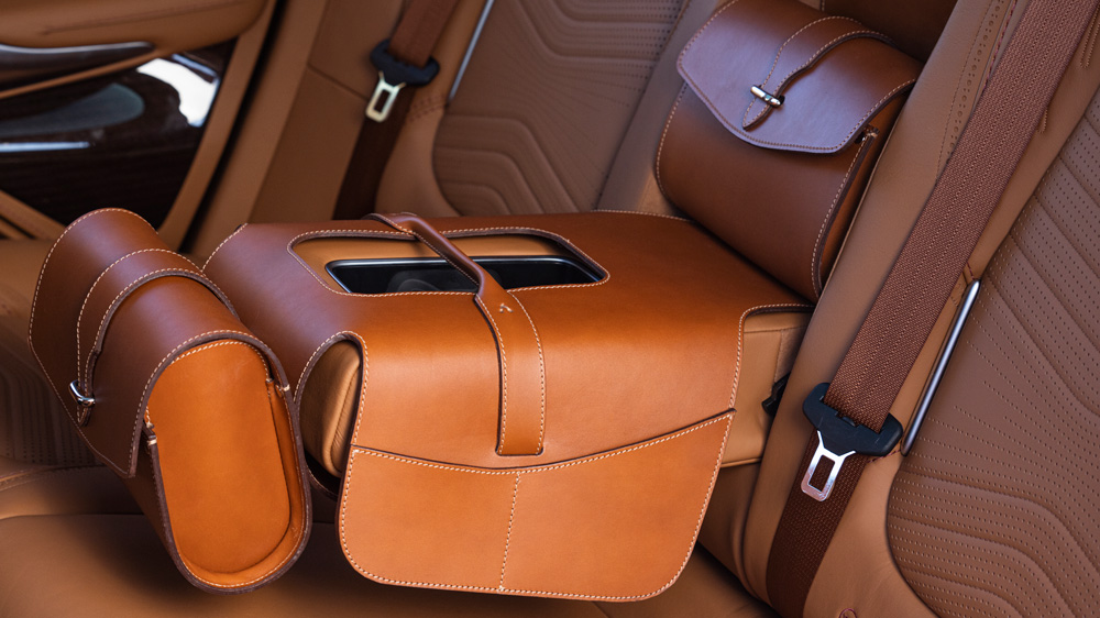 Aston Martin's DBX Saddle Bag.