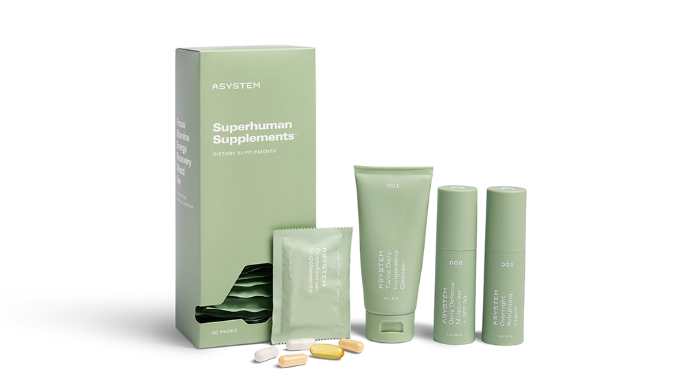 Asystem offers well crafted skincare products and supplements that promise to make you a better version of yourself.