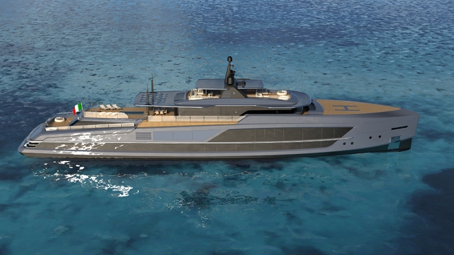 Baglietto 213-foot megayacht V-Line
