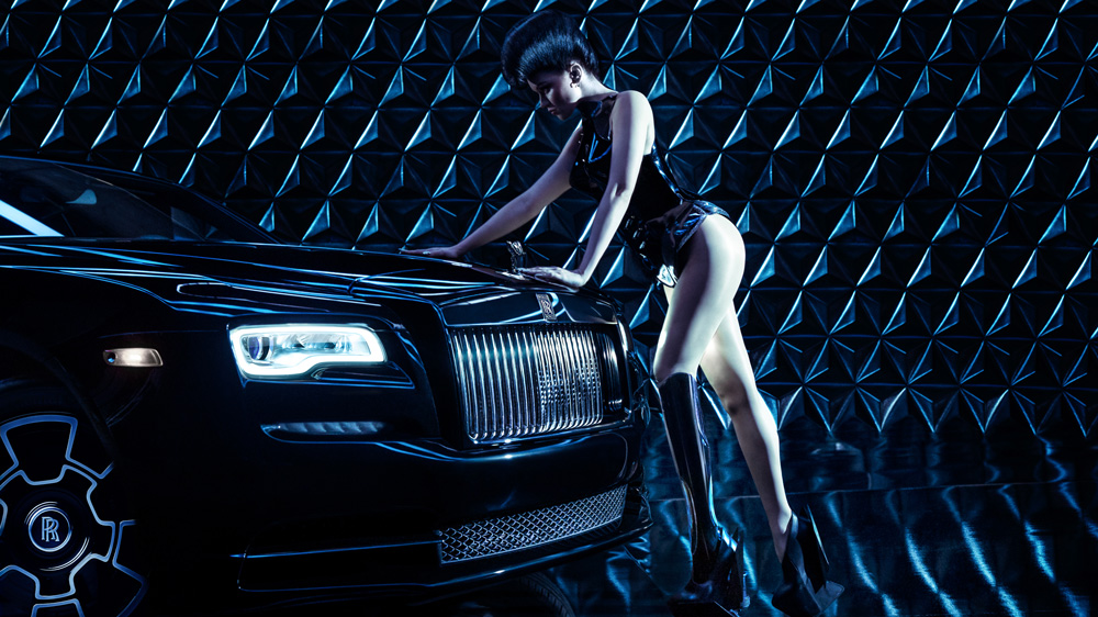 Rolls-Royce and Viktoria Modesta.