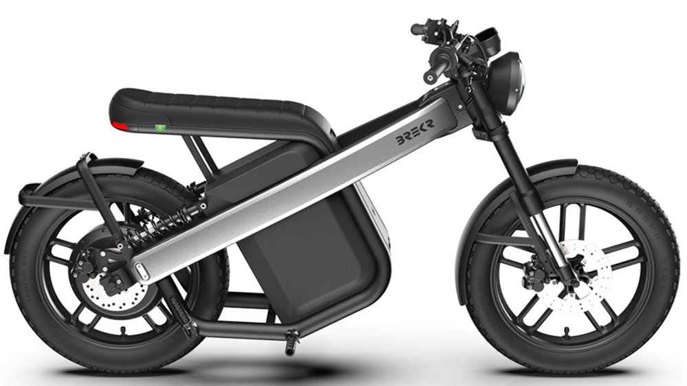 The Brekr Model B motorcycle