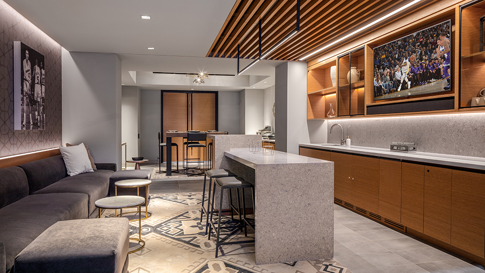 Chase Center Club Suite
