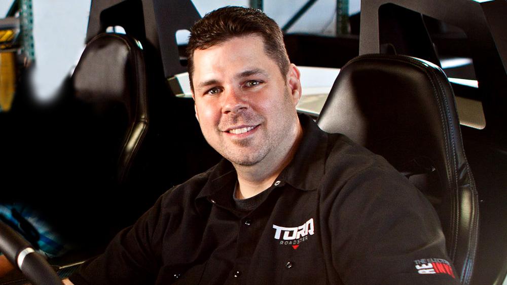 Chris Anthony, co-CEO of Aptera Motors.