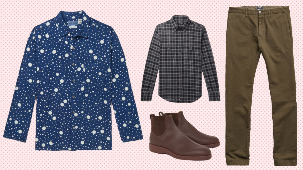 The best new fall menswear to buy this week includes pieces from Blue Blue Japan, Tom Ford, RM Williams and Todd Snyder