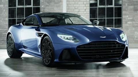 The Daniel Craig-designed Aston Martin DBS Superleggera