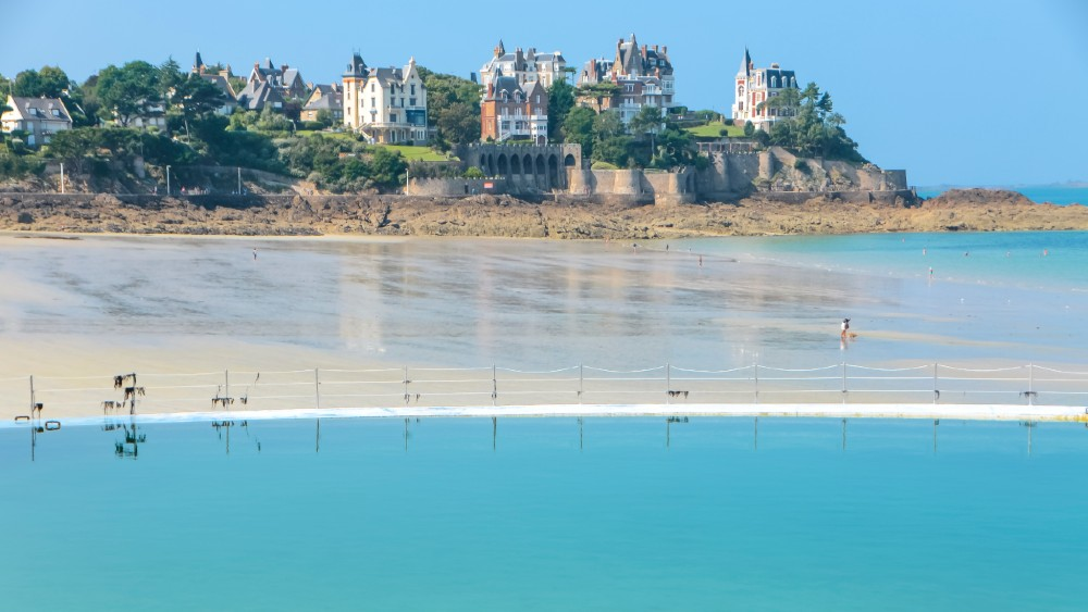 Dinard in Brittany, France