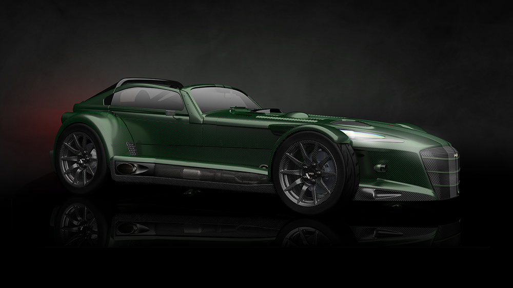The Donkervoort D8 GTO-JD70