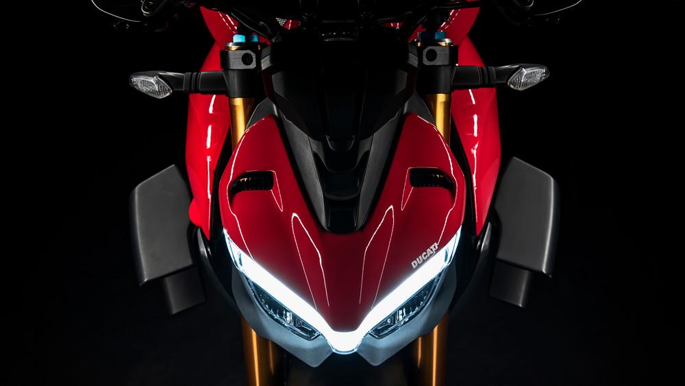 The Ducati Streetfighter V4 S.