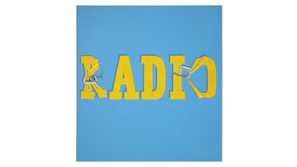 Ed Ruscha, Hurting the Word Radio #2, 1964