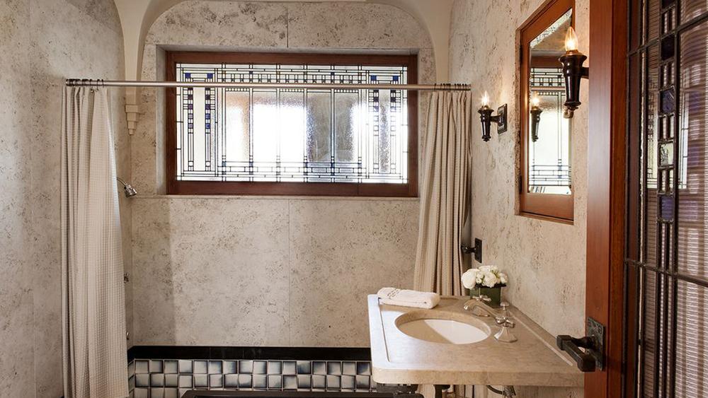 Frank Lloyd Wright's iconic Ennis House