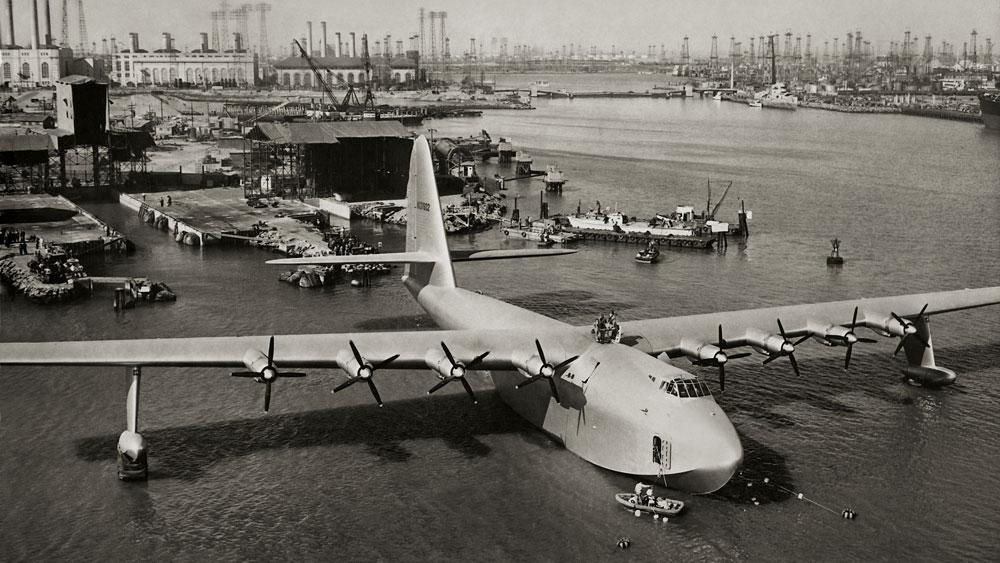 Spruce Goose Plane
