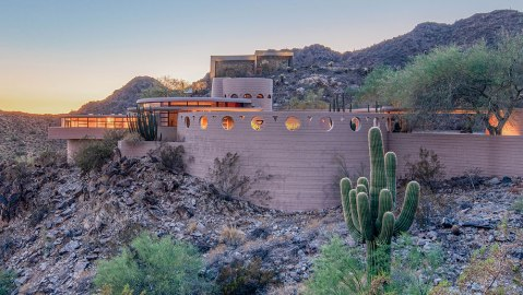 "Frank Lloyd Wright's ""The Norman Lykes House"""
