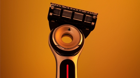 The Heated Razor from Gillette Labs
