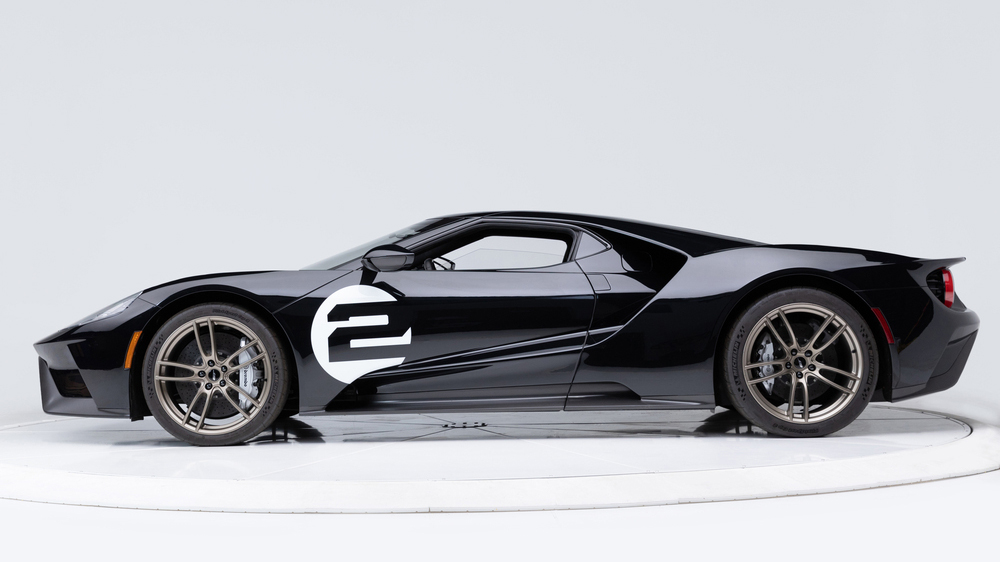 The 2017 Ford GT '66 Heritage Edition