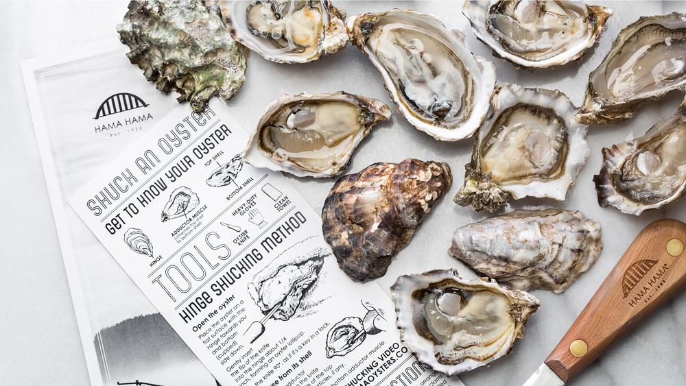 Hama Hama oysters washington